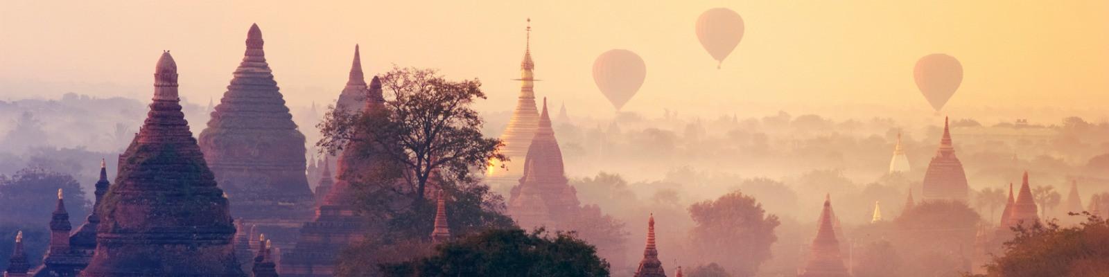 Tempel in Myanmar