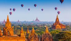 Myanmar Rundreisen - Bagan entdecken und Ballonfahrt genießen