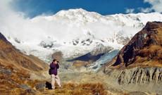 Nepal Rundreisen - Trekking zum Annapurna Basislager: Wanderung am Fuße des Himalayas